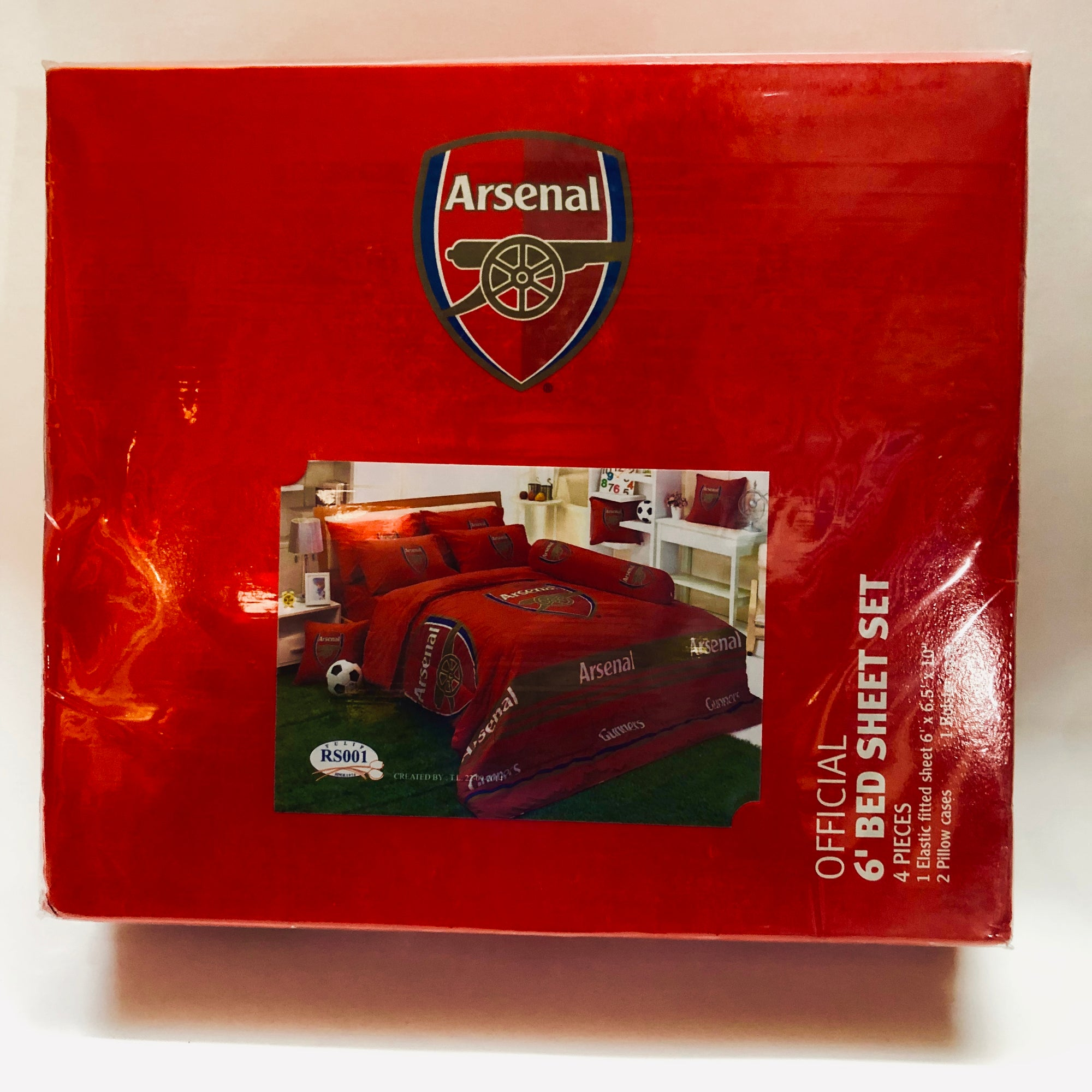 Arsenal Official Club Bedding - Double