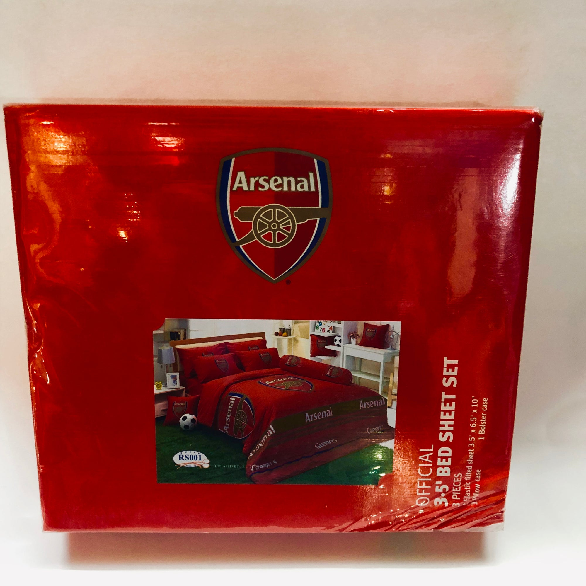 Arsenal Official Club Bedding - Single