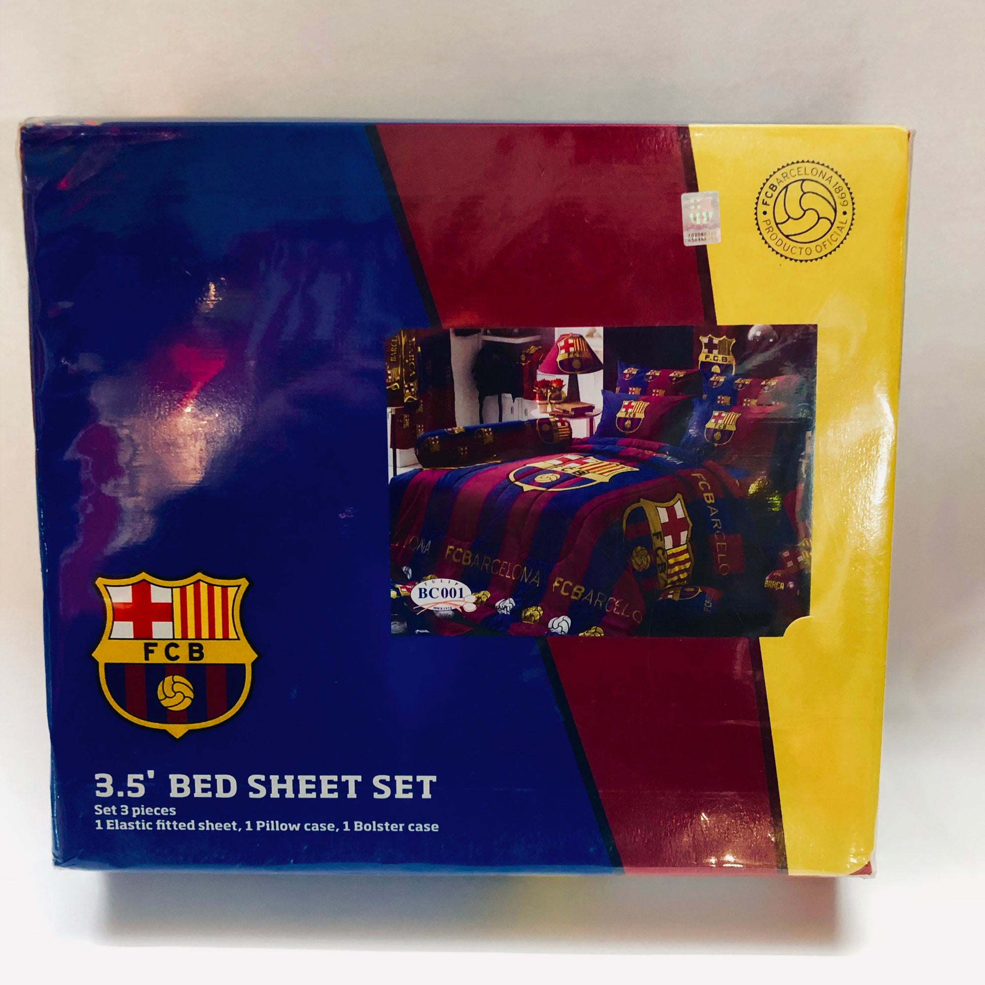 Barcelona Official Club Bedding - Single