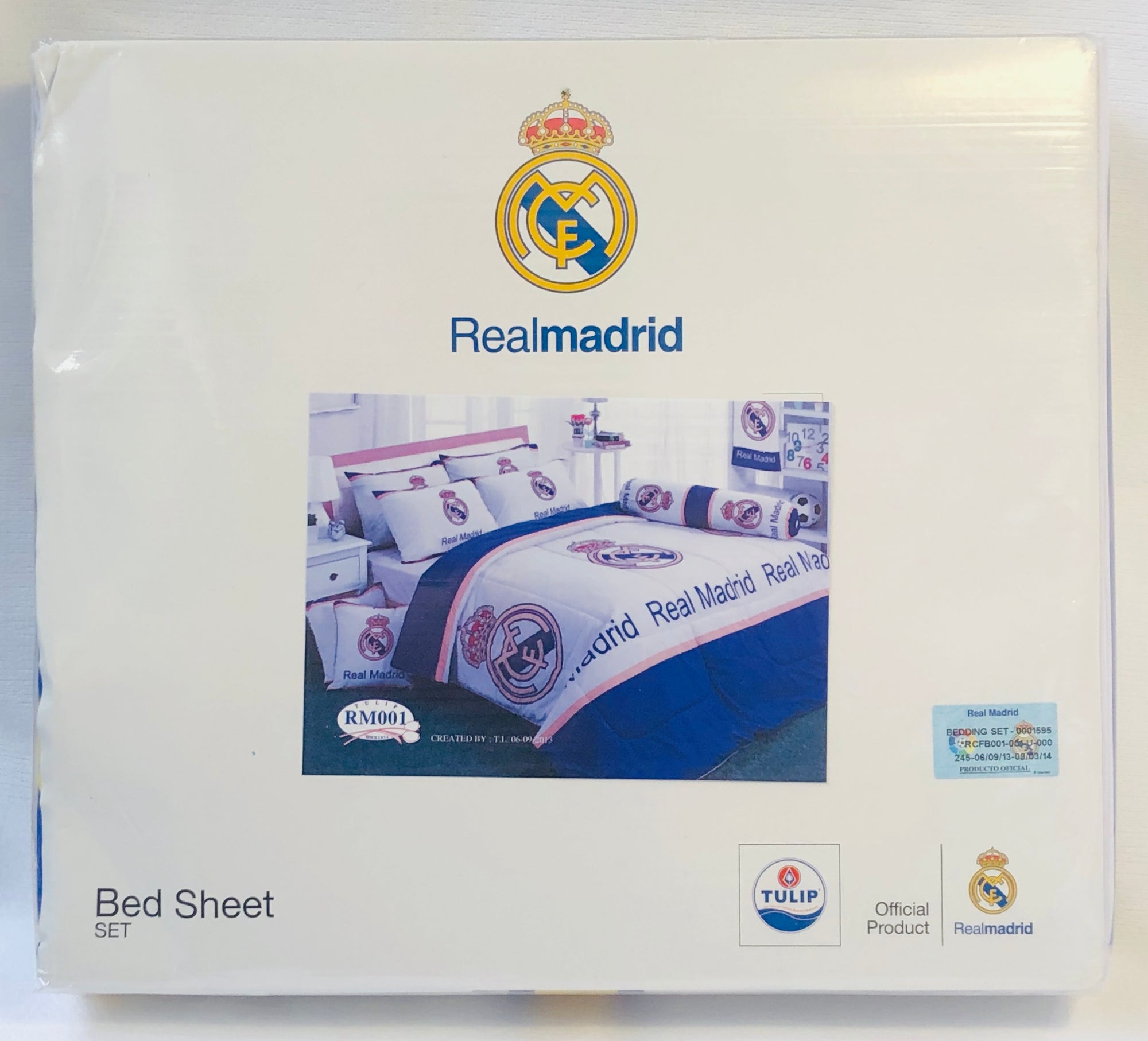 Real Madrid Official Club Bedding - Double