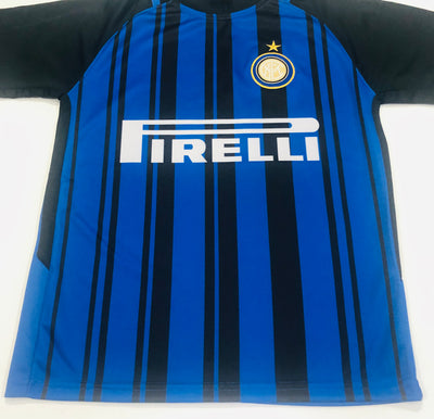 INTER MILAN HOME 2017/18 KIDS 2-PIECE SOCCER SET