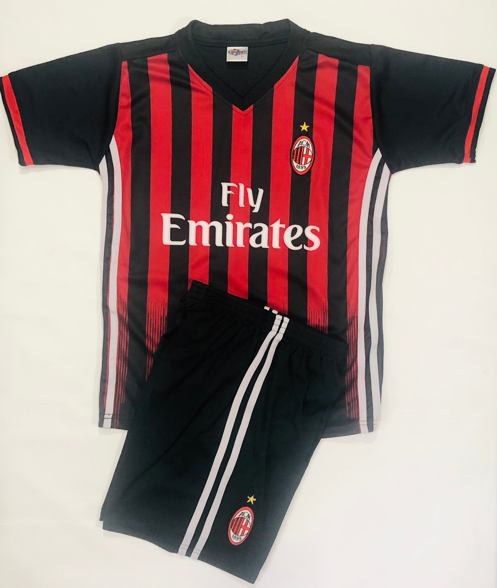 AC MILAN HOME 2016/17 KIDS 2-PIECE SOCCER SET