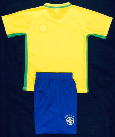BRAZIL HOME 'Copa2016' KIDS 2-PIECE SOCCER SET