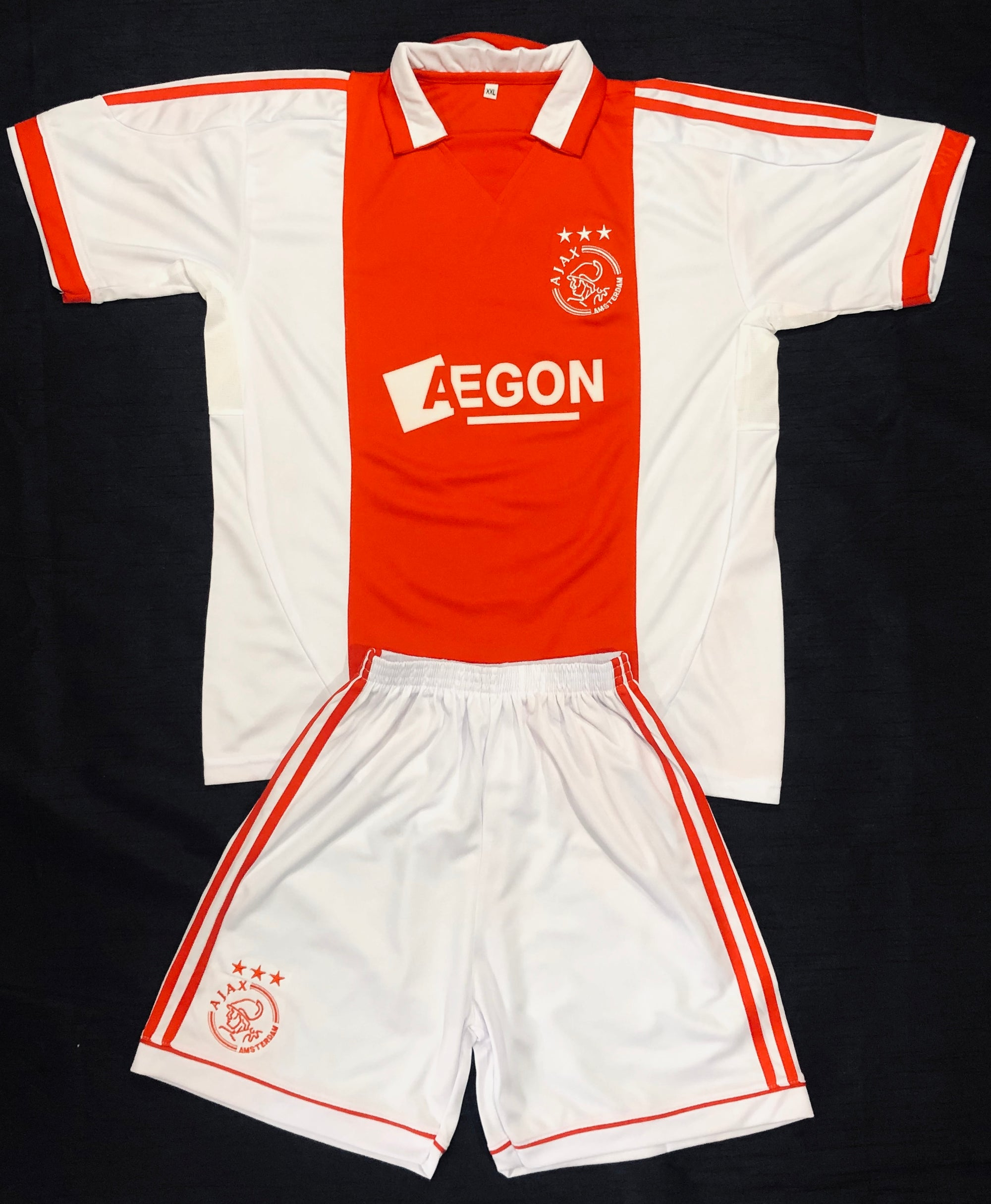 AJAX AMSTERDAM HOME KIDS 2-PIECE SOCCER SET