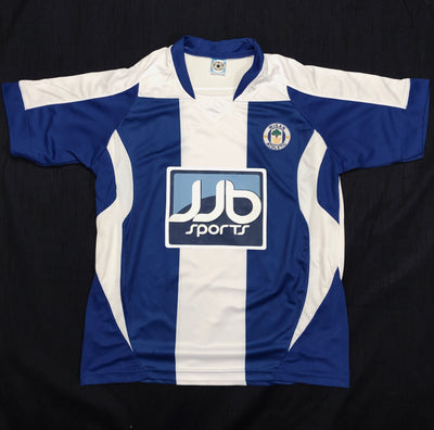 Wigan Athletic Home Shirt 2008/09 ~ Adult Replica