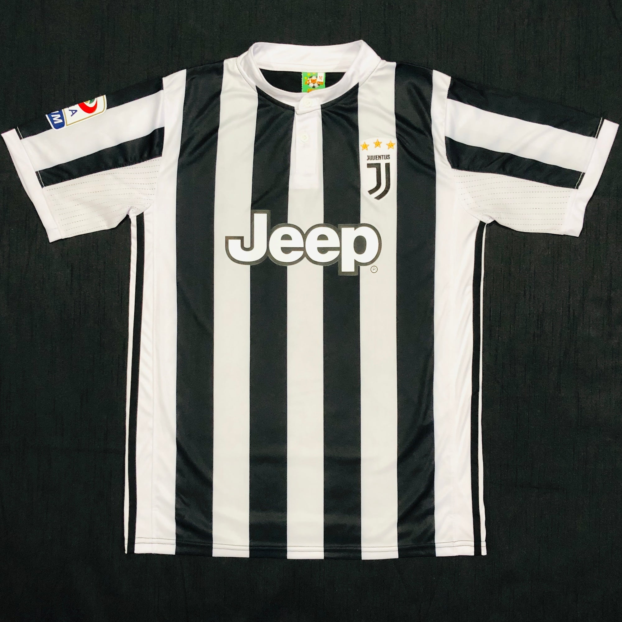 Juventus Home 2017/18 Adult Shirt ~ Replica Version