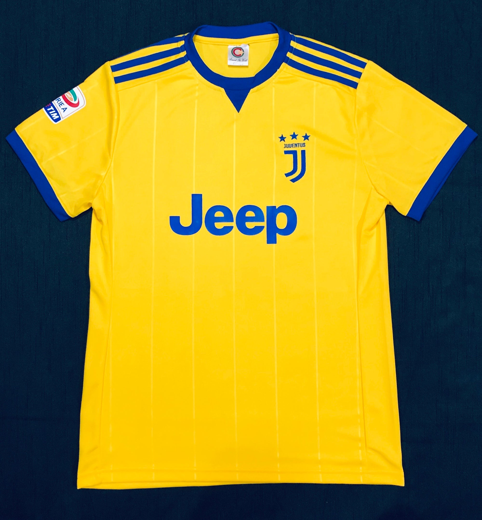 Juventus Away 2017/18 Adult Shirt ~ Replica Version