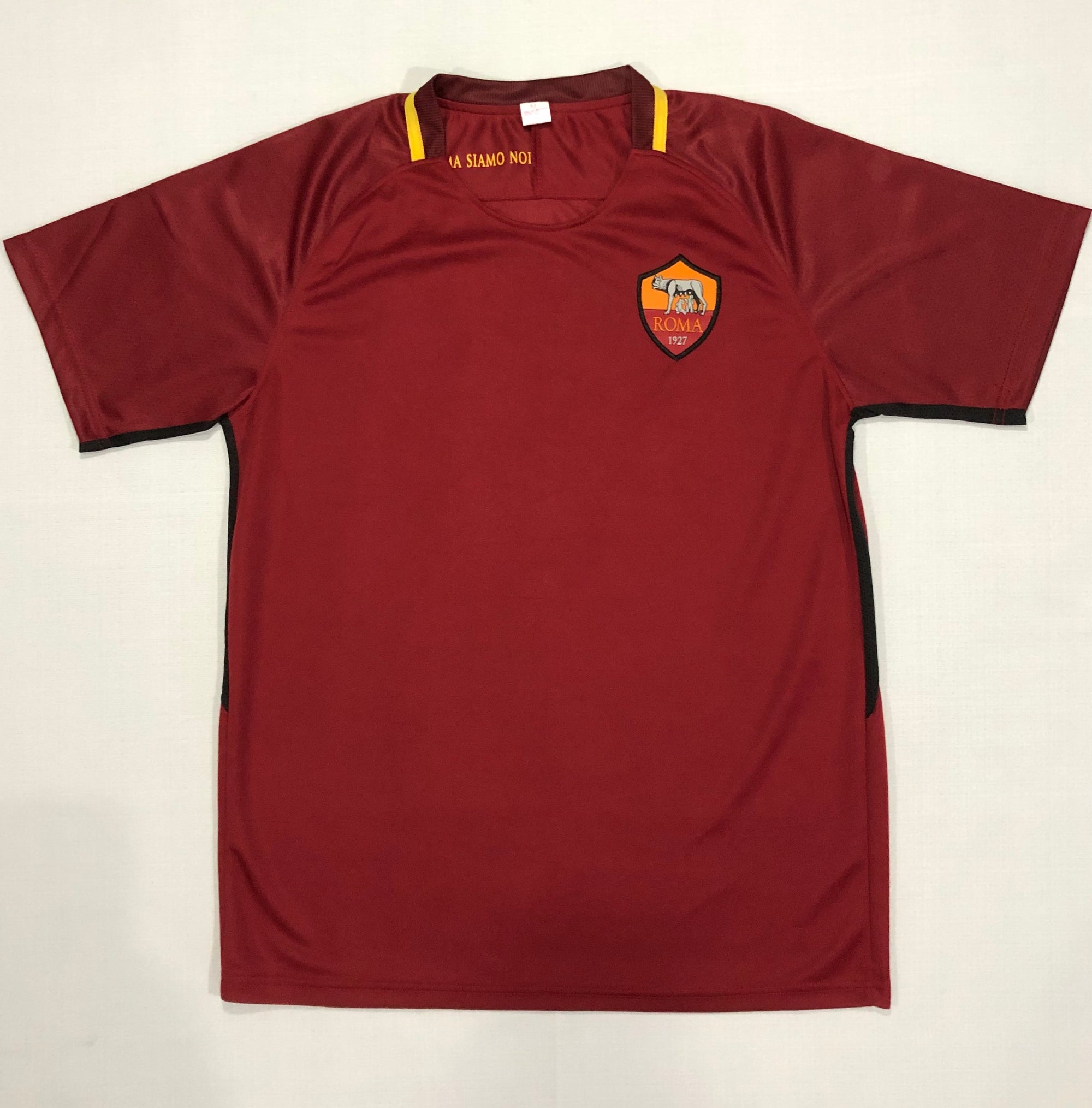 Roma 2017/18 Home Shirt ~ Relplica Version