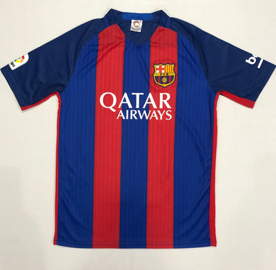 Barcelona Home Shirt 2016/17 ~ Adult Replica (Version ATW)
