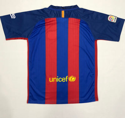 Barcelona Home Shirt 2016/17 ~ Adult Replica (Version AS)
