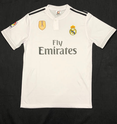 Real Madrid Home Shirt 2018/19 ~ Adult Replica