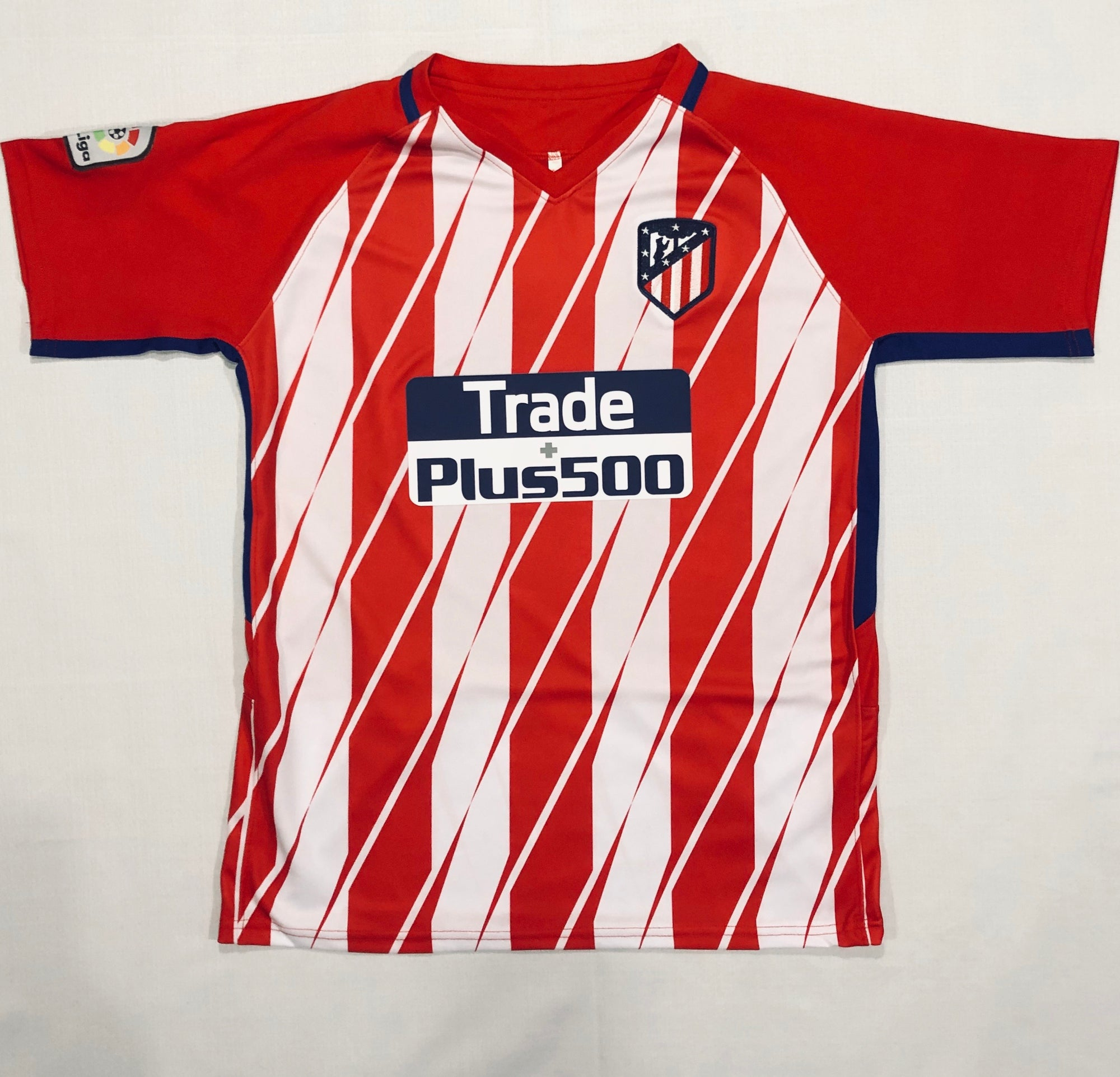 Atletico Madrid Home 2017/18 Adult Shirt ~ Replica Version