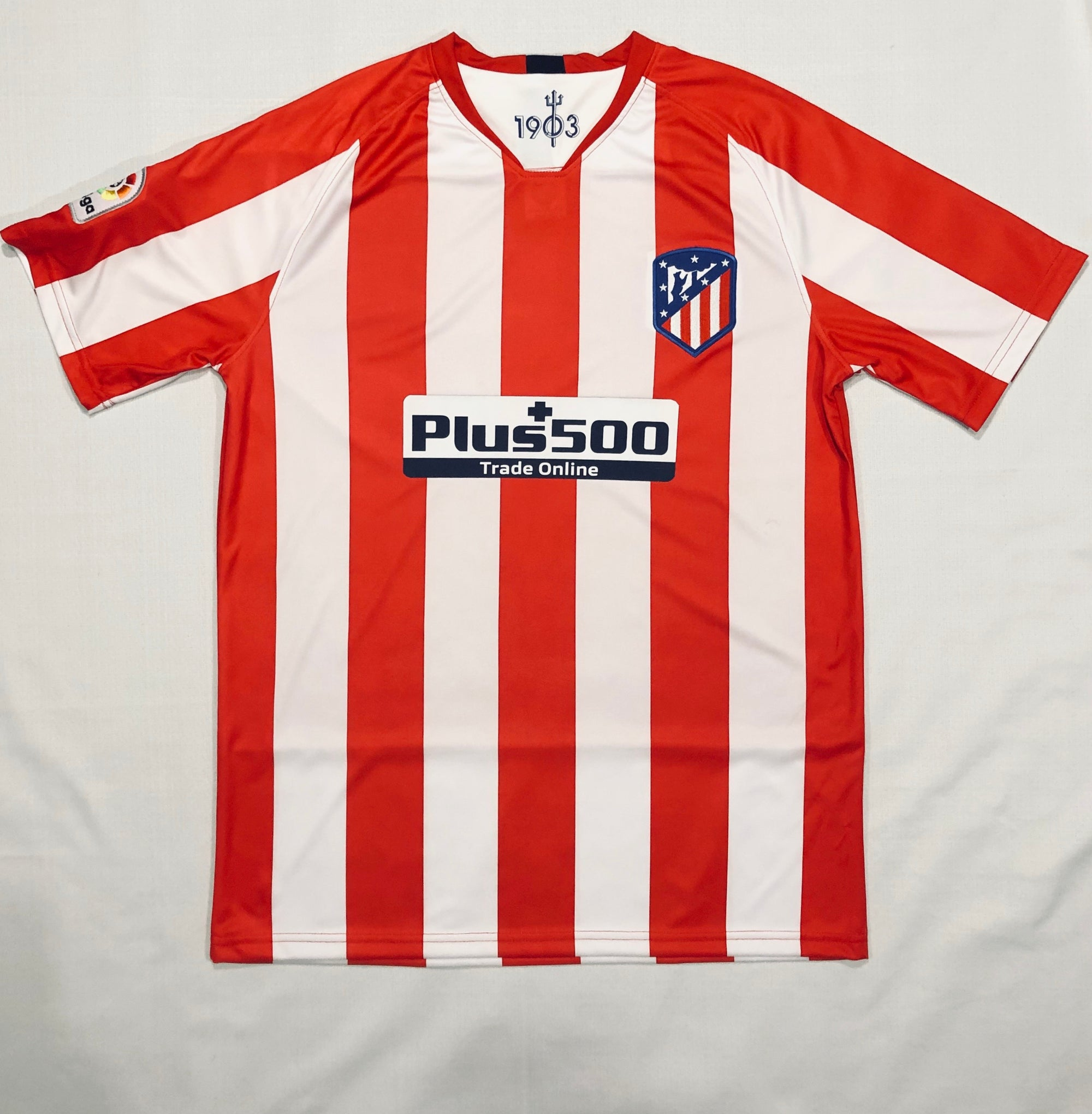 Atletico Madrid Home 2019/20 Adult Shirt ~ Replica Version