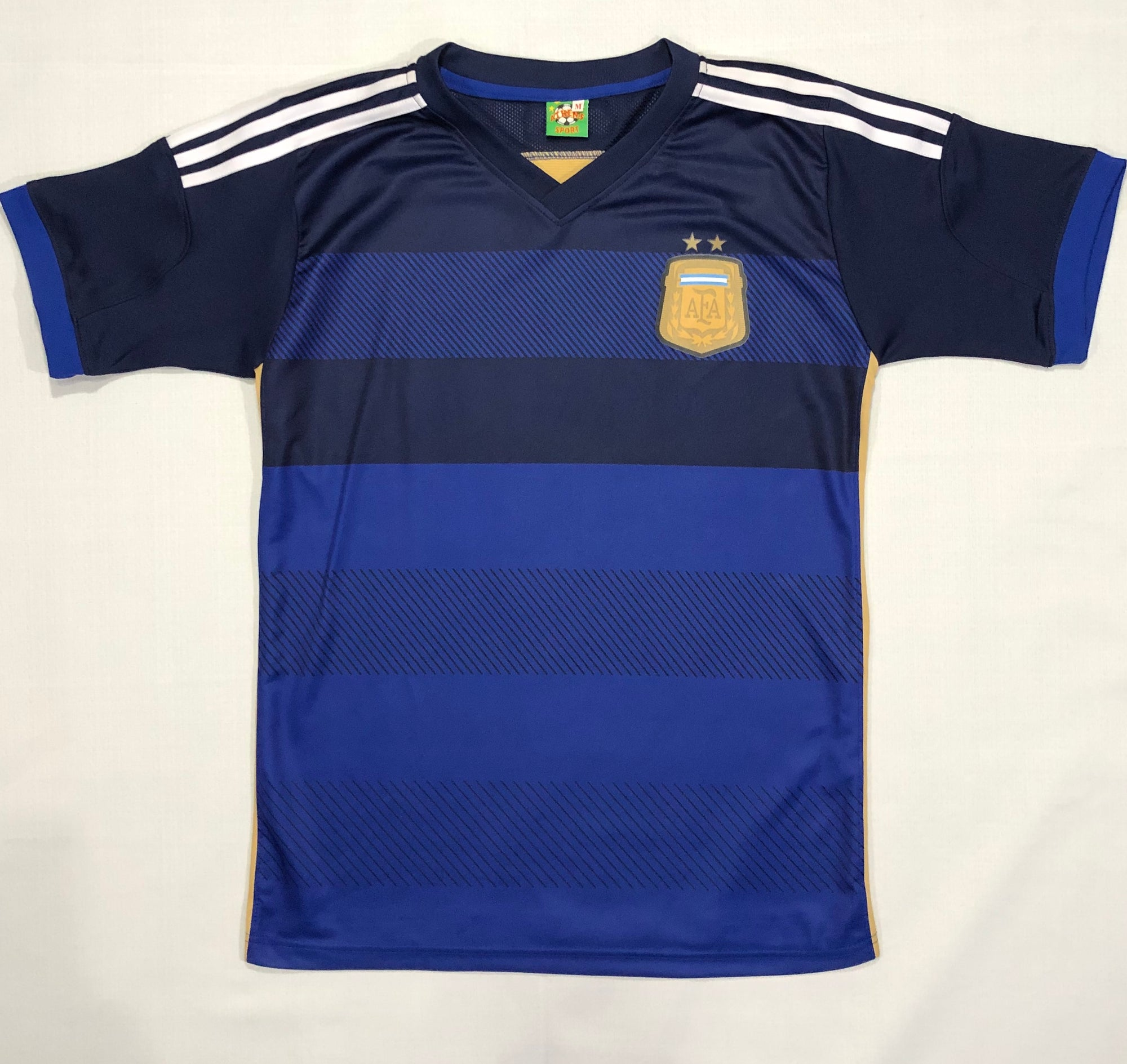 Argentina Away Shirt WC2014 ~ Adult Replica