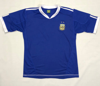 Argentina Away Shirt WC2010 ~ Adult Replica