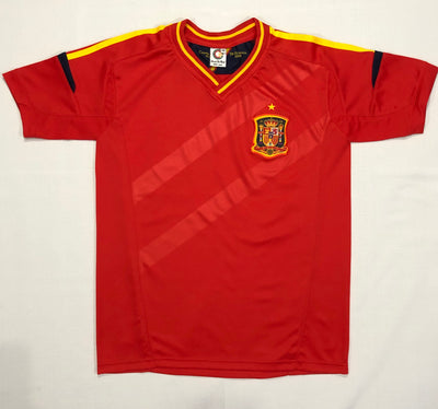Spain Home Euro12 Adult Shirt ~ Replica Version