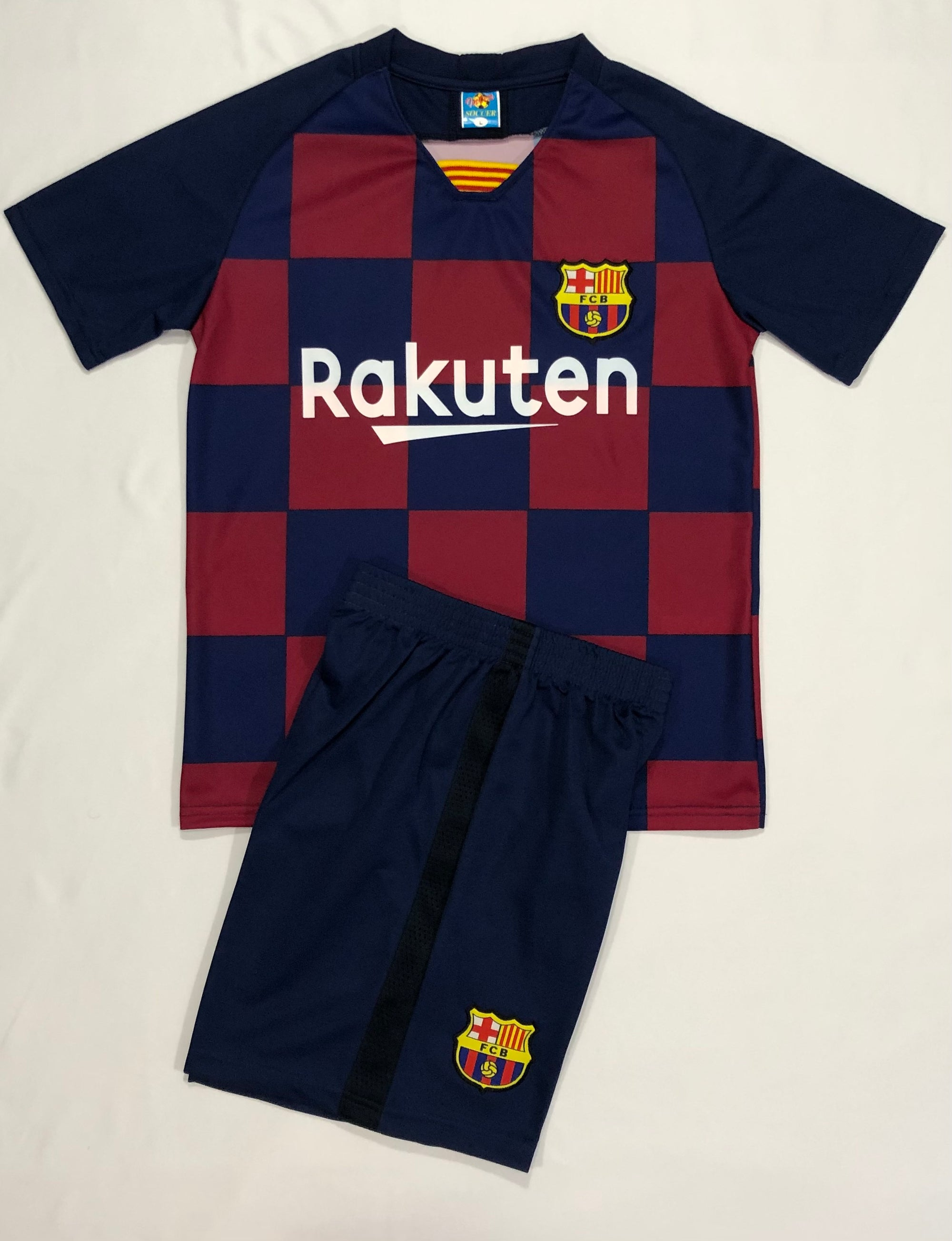 BARCELONA HOME 2019/20 KIDS 2-PIECE SOCCER SET