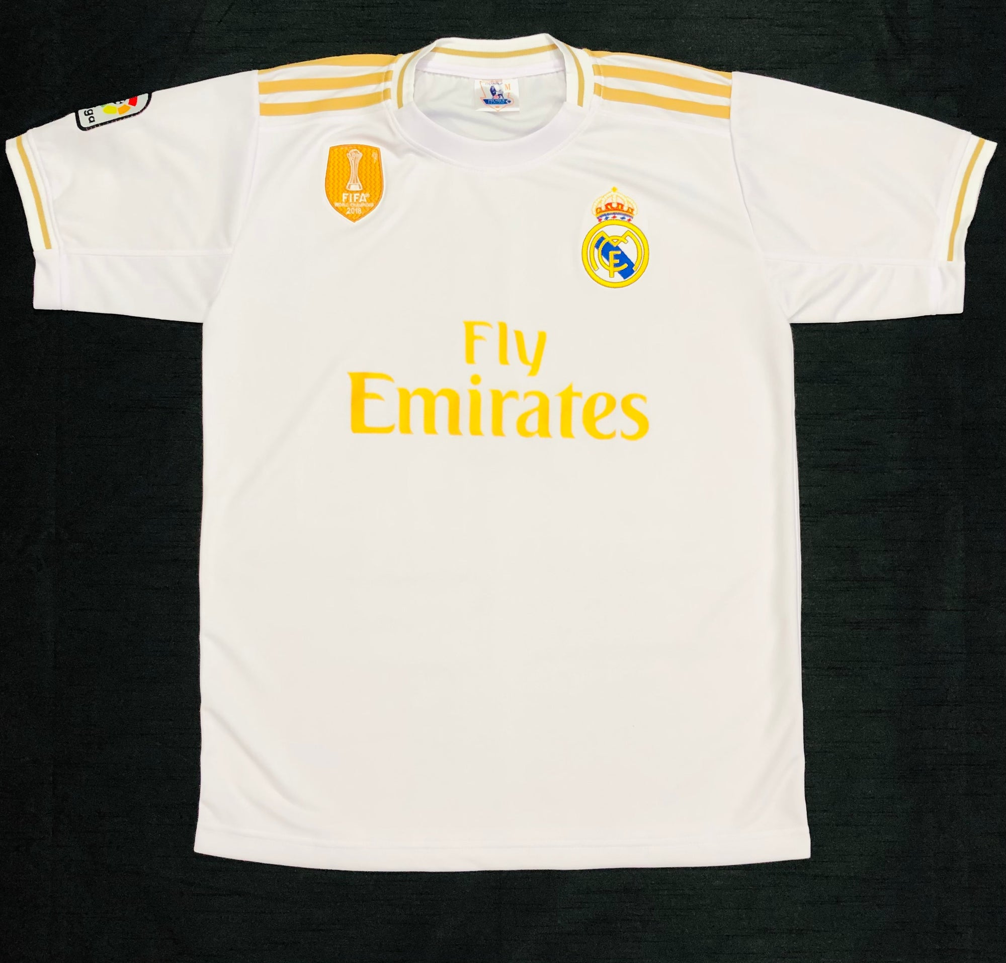 Real Madrid Home 2019/20 Adult Shirt ~ Replica Version