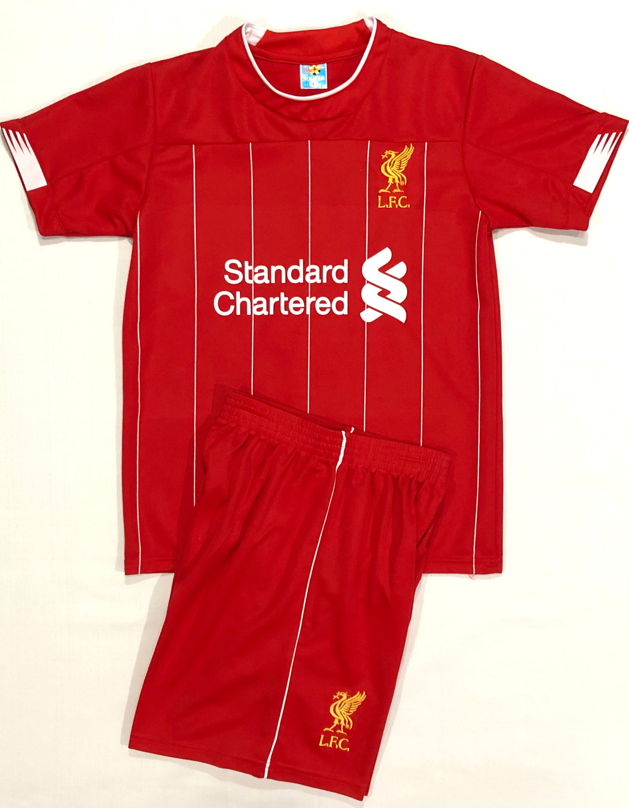 LIVERPOOL HOME 2019/20 KIDS 2-PIECE SOCCER SET