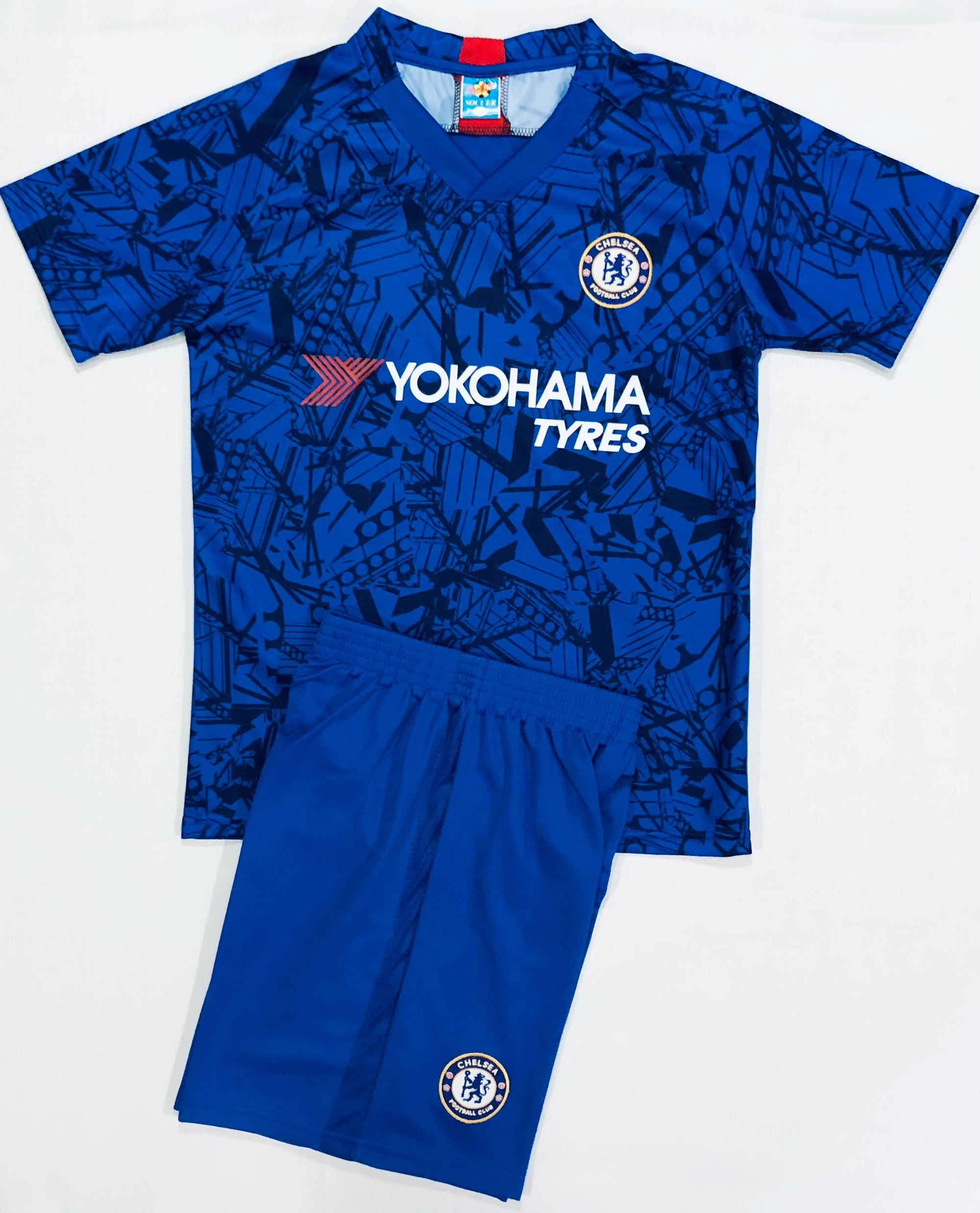 CHELSEA HOME 2019/20 KIDS 2-PIECE SOCCER SET