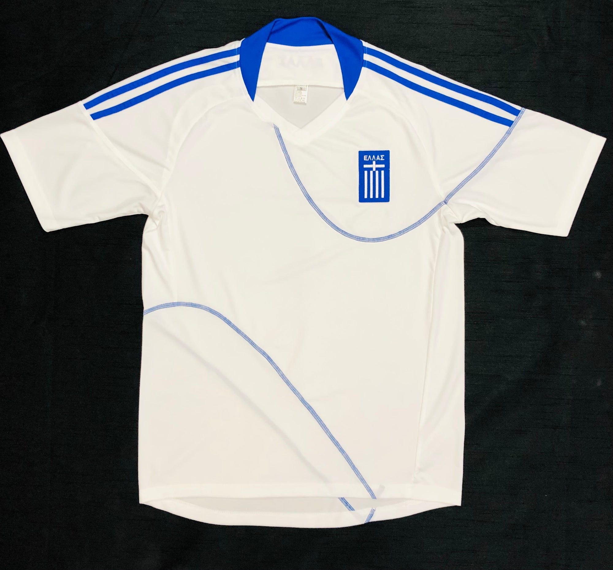 Greece Home WC2010 Adult Shirt ~ Replica Version