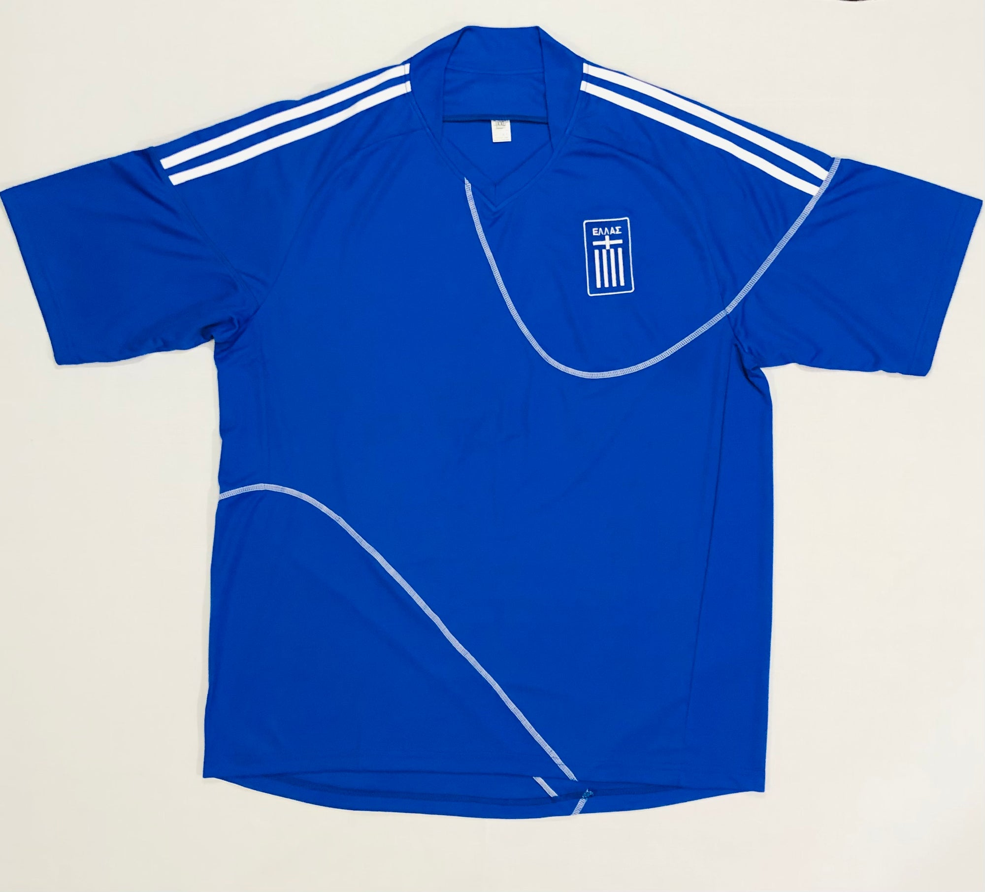 Greece Away WC2010 Adult Shirt ~ Replica Version