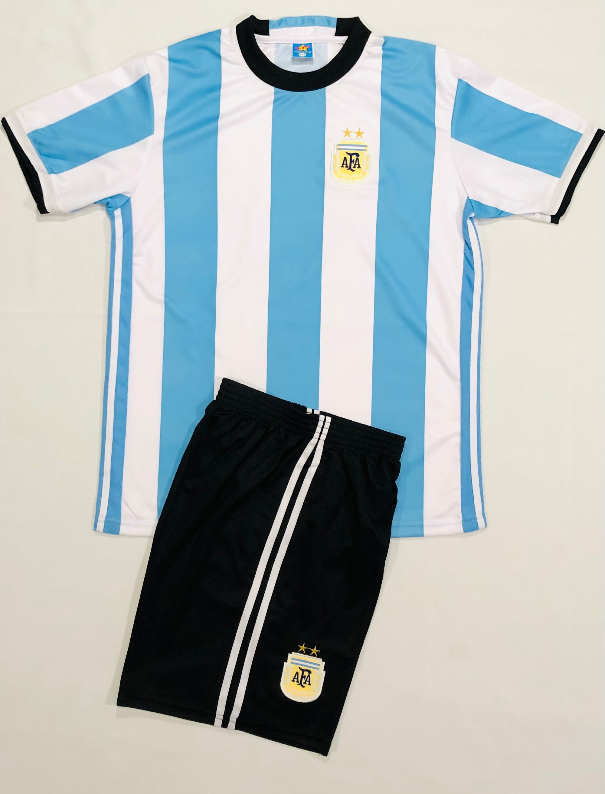 ARGENTINA HOME 'COPA16' KIDS 2-PIECE SOCCER SET