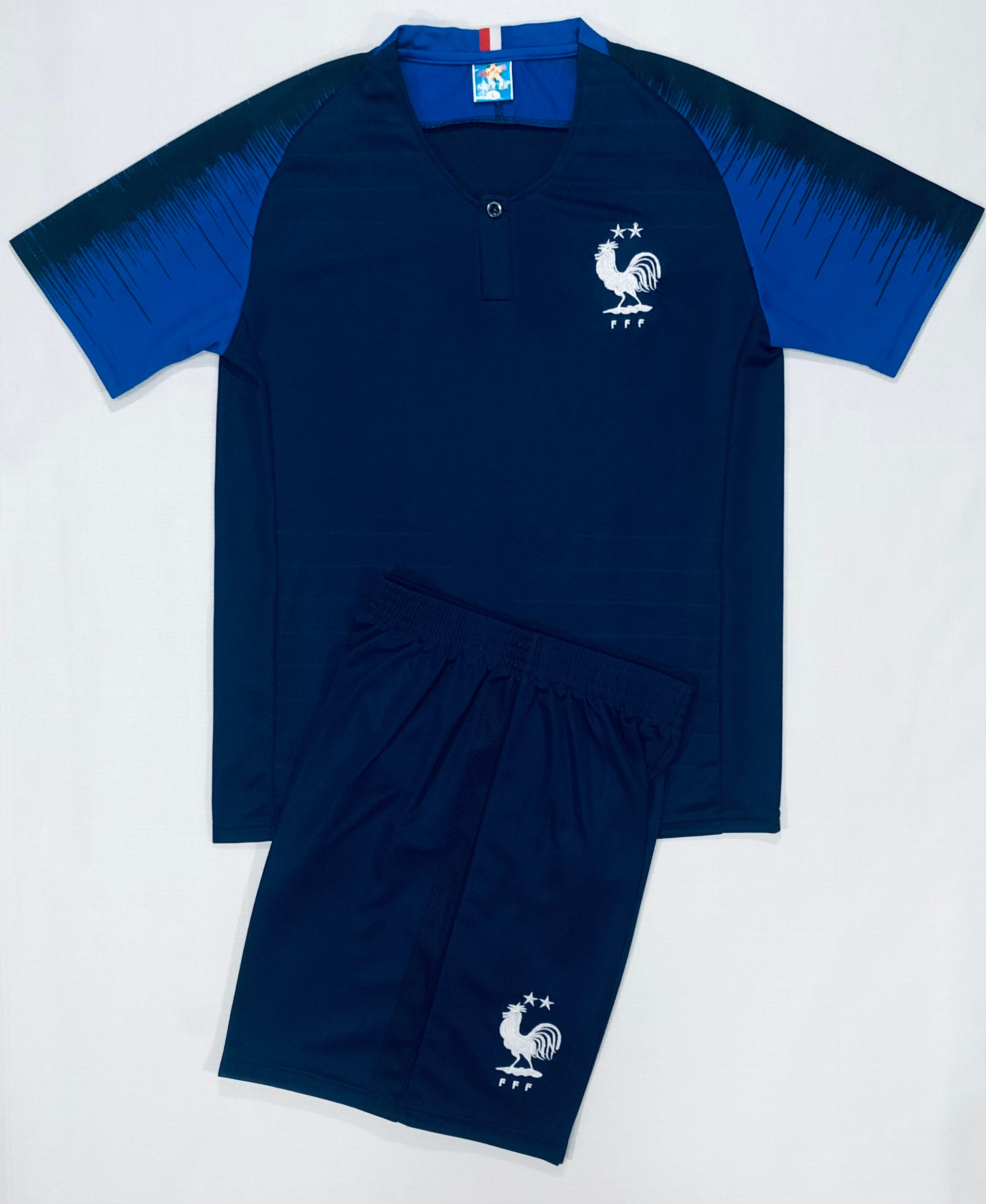 FRANCE HOME WORLD CUP 2018 KIDS 2-PIECE SOCCER SET