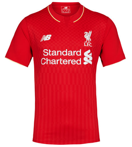 Liverpool Home Shirt 2015/16 Official New Balance - Youth