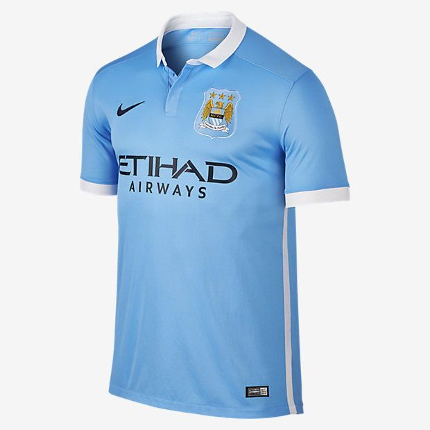 Manchester City Home Shirt 2015/16 Official Nike - Youth