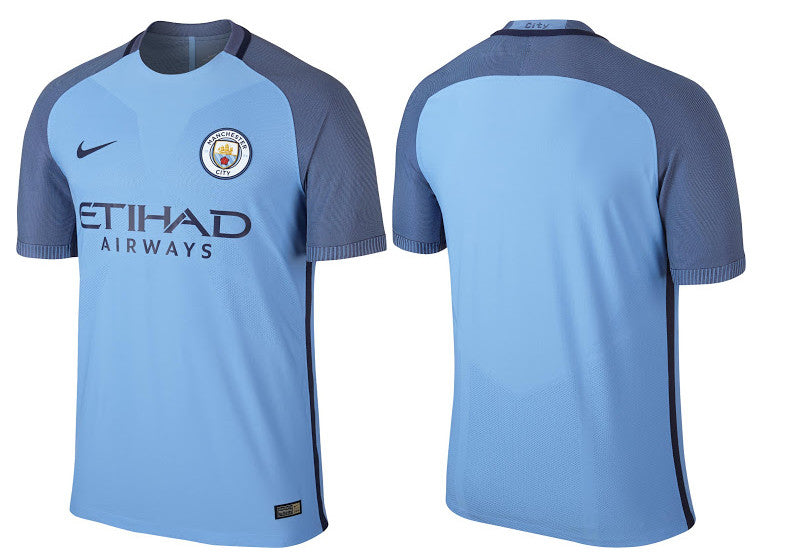 Manchester City Home Shirt 2016/17 Official Nike - Youth