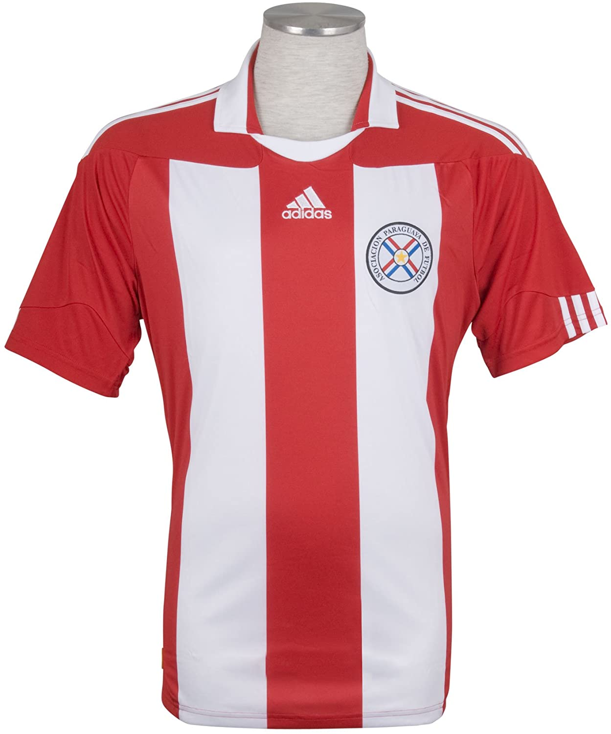 Paraguay Home Shirt WC2010 Official Adidas