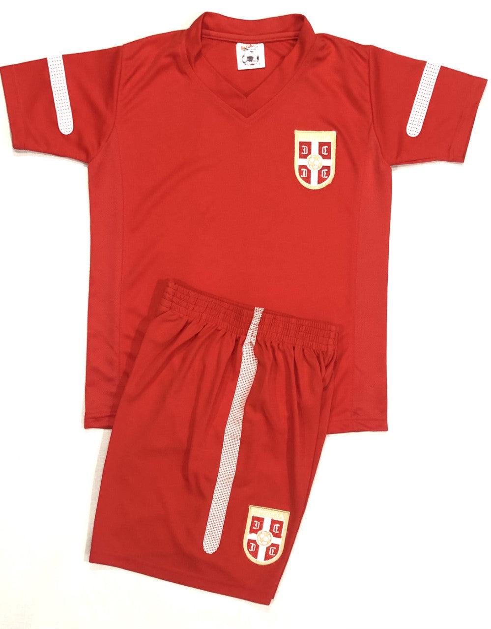 SERBIA HOME WORLD CUP 2014 KIDS 2-PIECE SOCCER SET