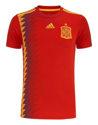 Spain Home WC2018 Youth Shirt ~ Official Adidas