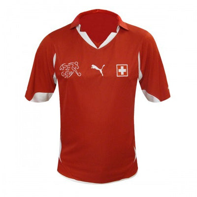 Switzerland Home WC2010 Adult Shirt ~ Official Puma