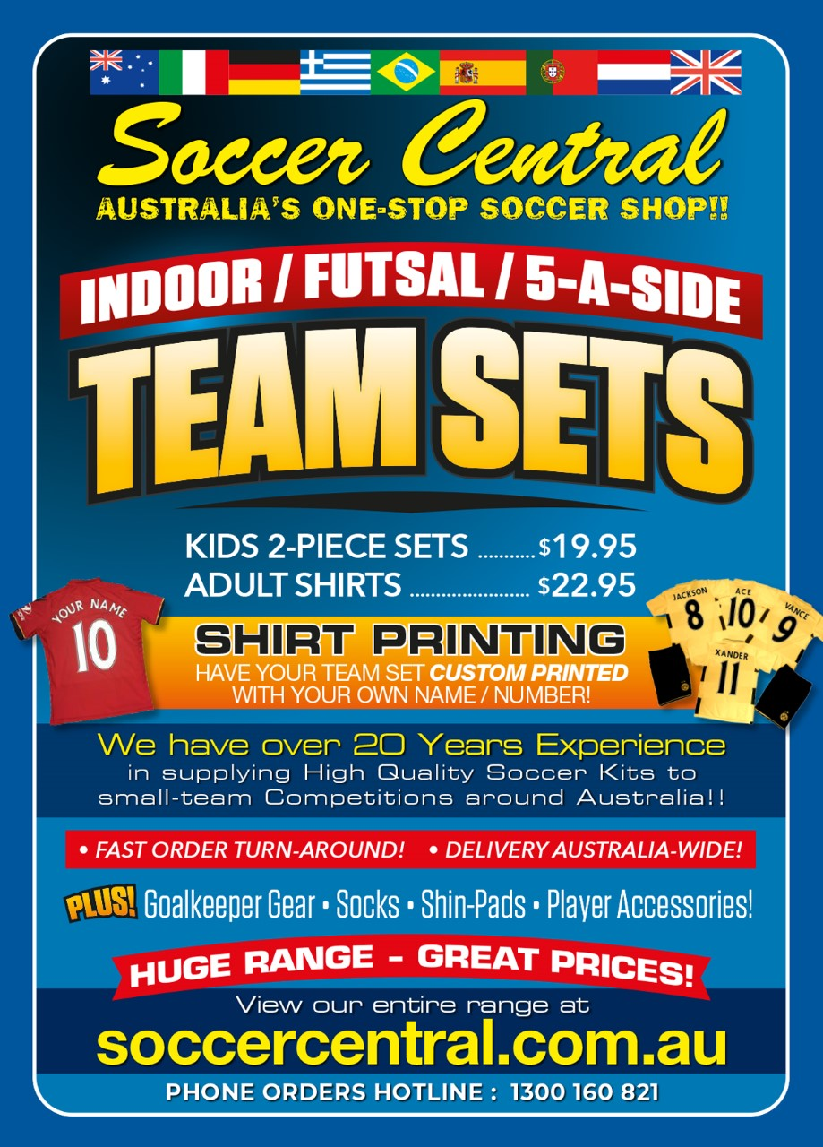 A1 TEAM SET FLYER