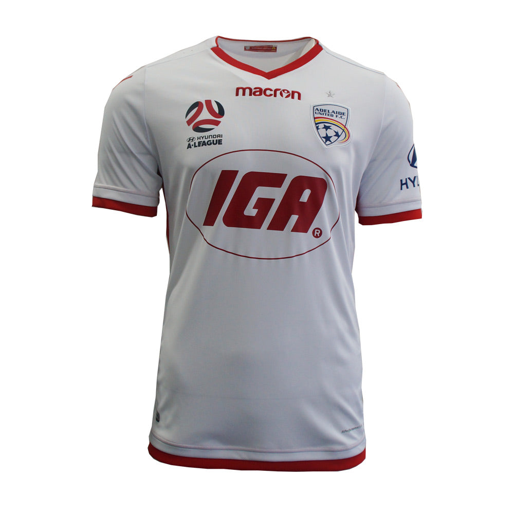 ADELAIDE UNITED AWAY JERSEY 2017/18 JUNIOR