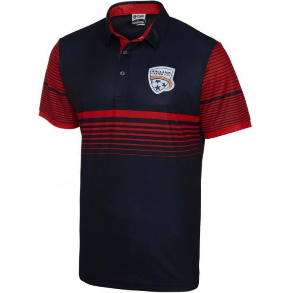 Adelaide United Mens Polo Shirt