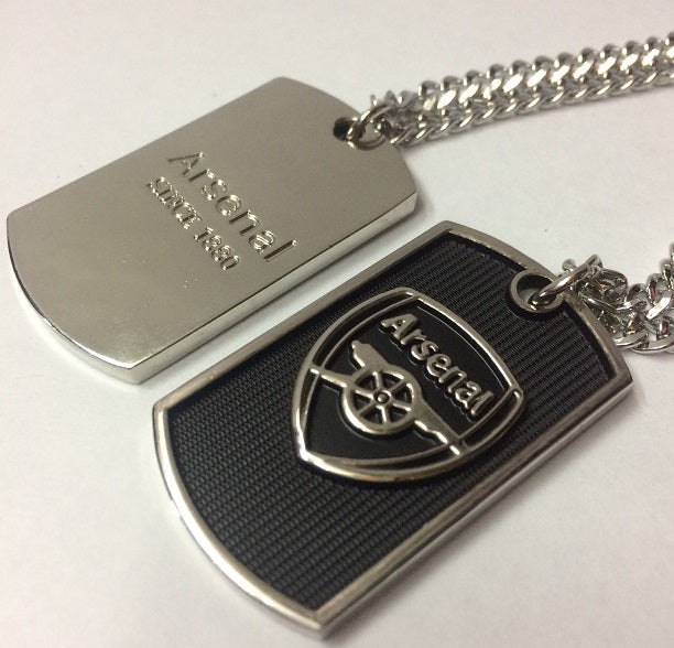 Arsenal Dog Tag Necklace