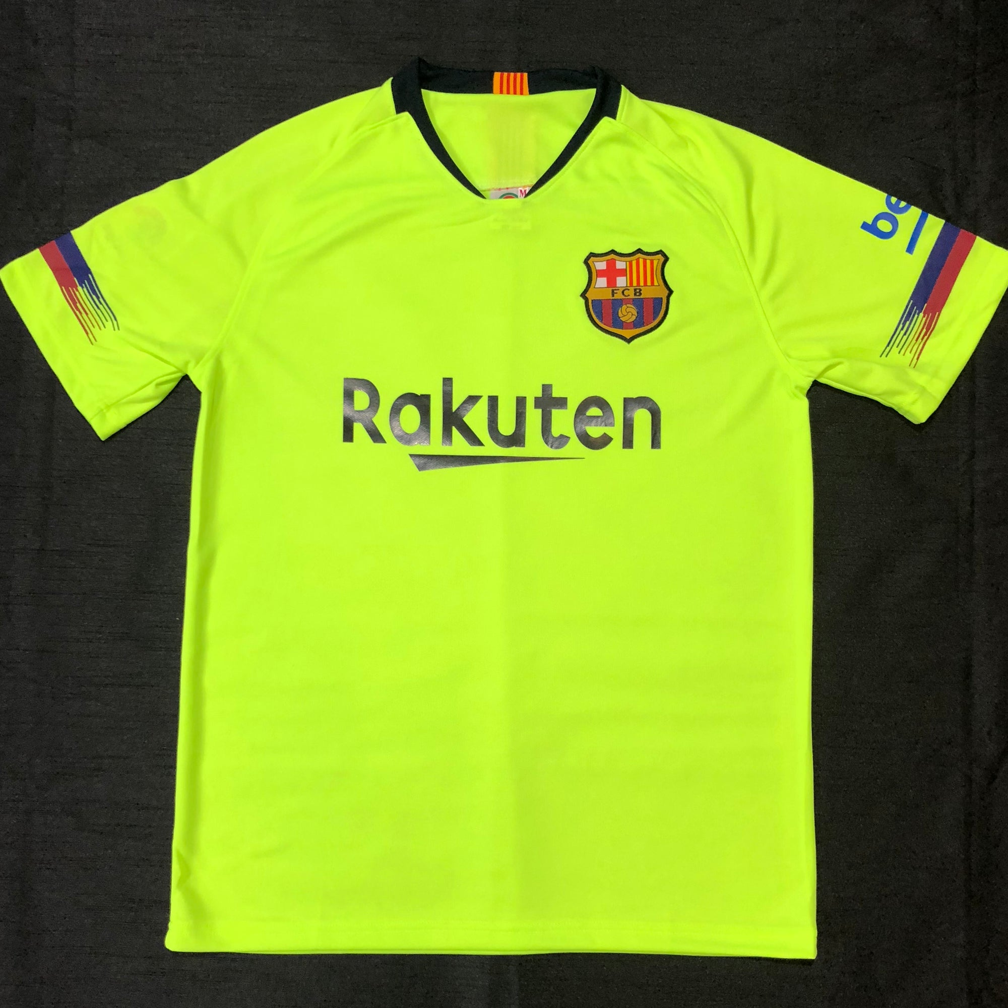 Barcelona 2018/19 Away Shirt ~ Replica Version