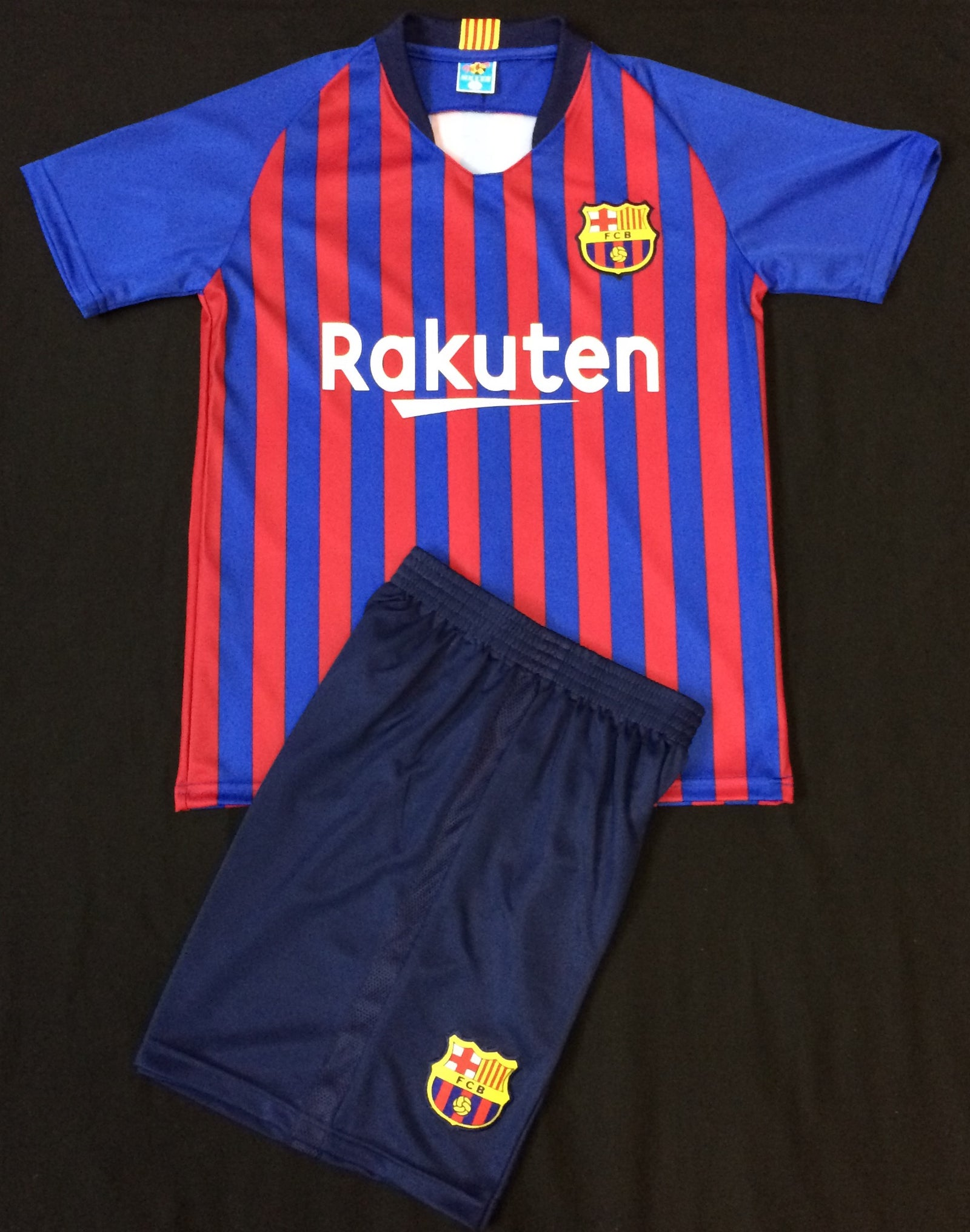 f7b4a47c5a9 BARCELONA HOME 2018 19 KIDS 2-PIECE SOCCER SET