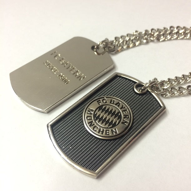 Bayern Munich Dog Tag Necklace