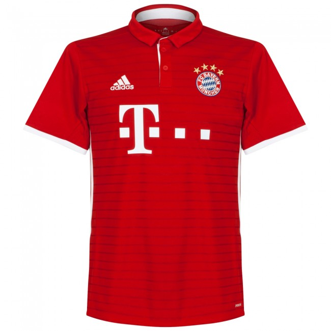 Bayern Munich Official Adidas Youth Home Shirt 2016/17