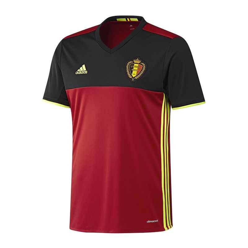 Belgium Official Adidas Euro 2016 Home Shirt