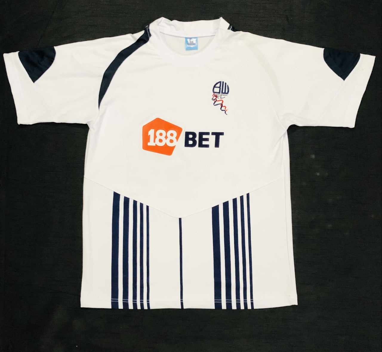Bolton Wanderers Home Shirt 2009/10 ~ Adult Replica