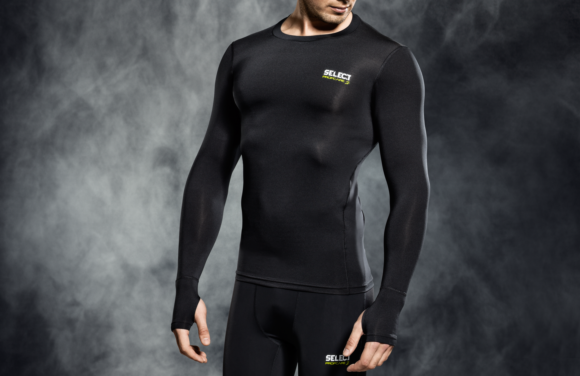 SELECT COMPRESSION L/S SHIRT - Various Colours