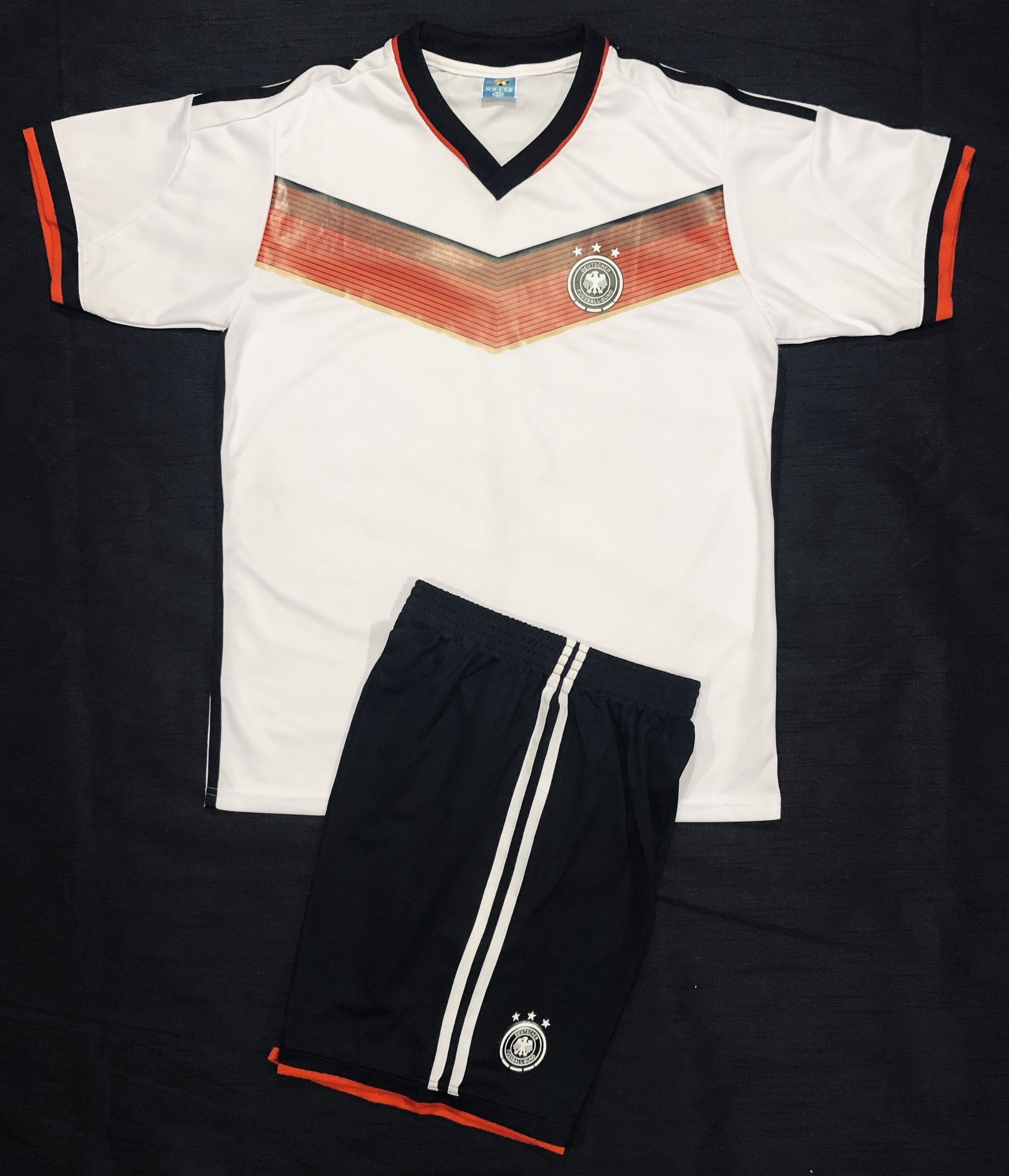 GERMANY HOME WC2014 KIDS 2-PIECE SOCCER SET