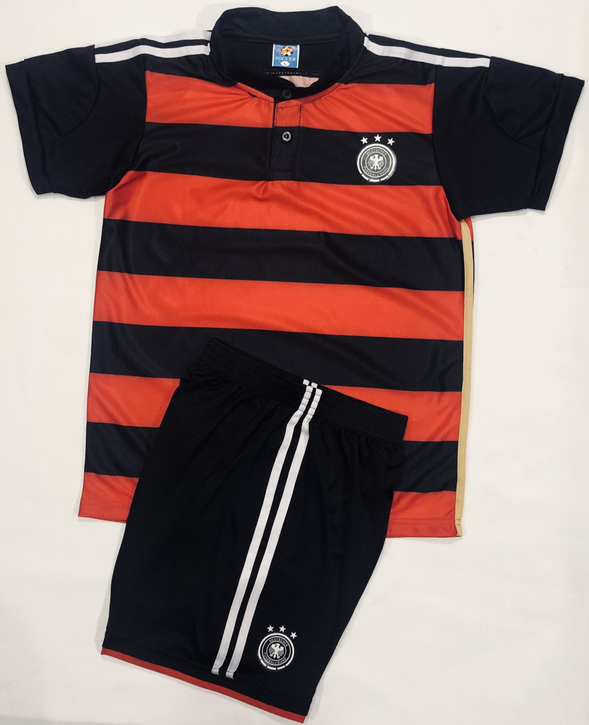 GERMANY AWAY WC2014 KIDS 2-PIECE SOCCER SET