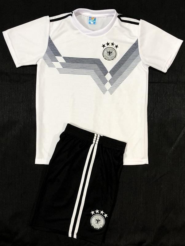GERMANY HOME WC2018 KIDS 2-PIECE SOCCER SET