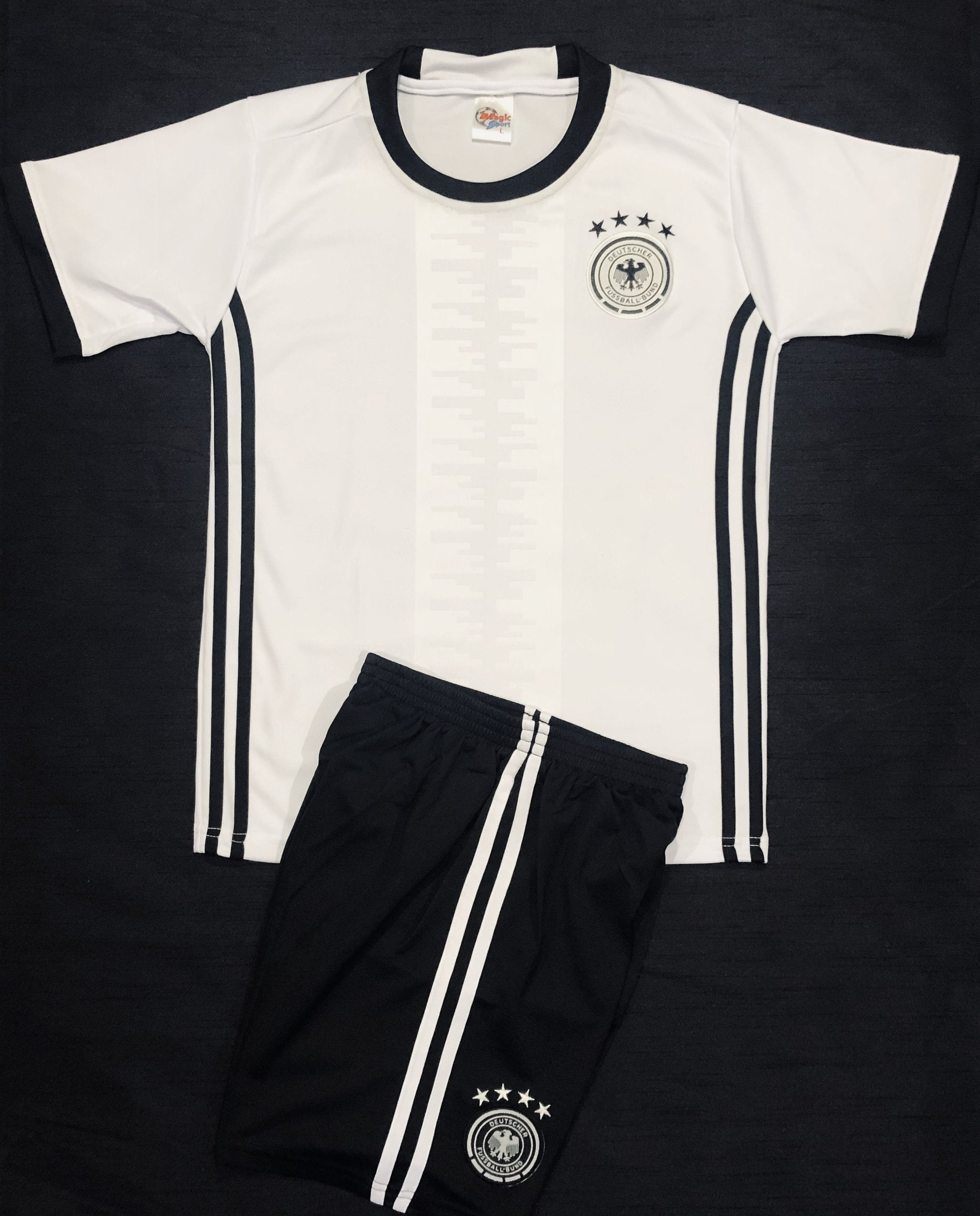 GERMANY HOME EURO16 KIDS 2-PIECE SOCCER SET